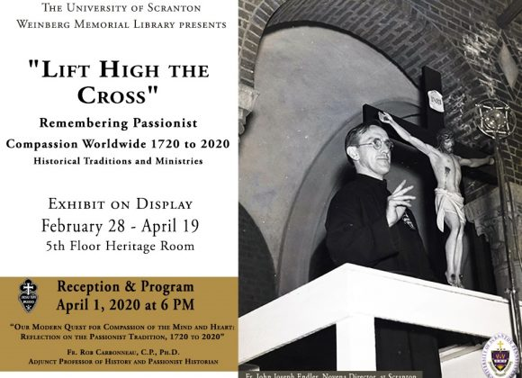 Exhibit in Scranton, PA Honors the 300th Anniversary of the Passionists