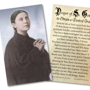 Join with the Passionists as they celebrate their anniversary, 1720-2020: A reflection on the feast of Saint Gemma Galgani