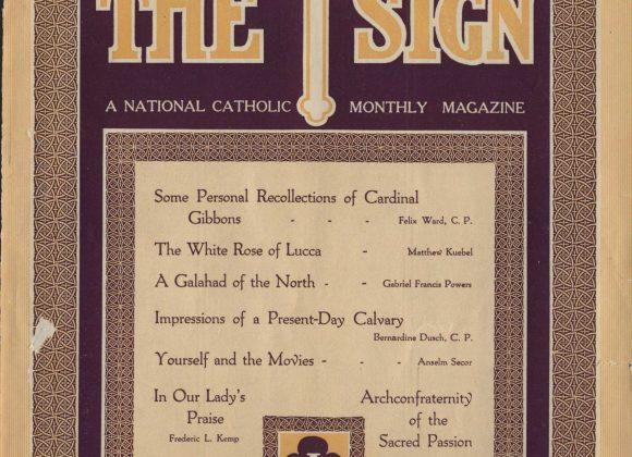The Sign Magazine Centennial Celebration 1921 – 1982: